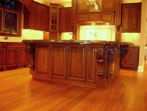 corbels for kitchen island large island corbels traditional kitchen chicago 5808