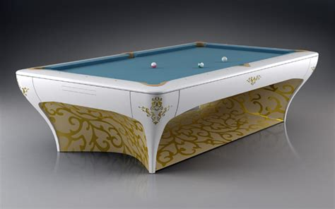10 Creatively Designed Pool Tables