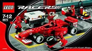 8673 Lego Ferrari F1 Fuel Stop  Instruction Booklet