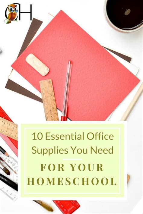 Office Supplies To Make Easier by The 10 Essential Office Supplies You Need For Your