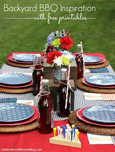Backyard BBQ Party + FREE Printables - Celebrations at Home