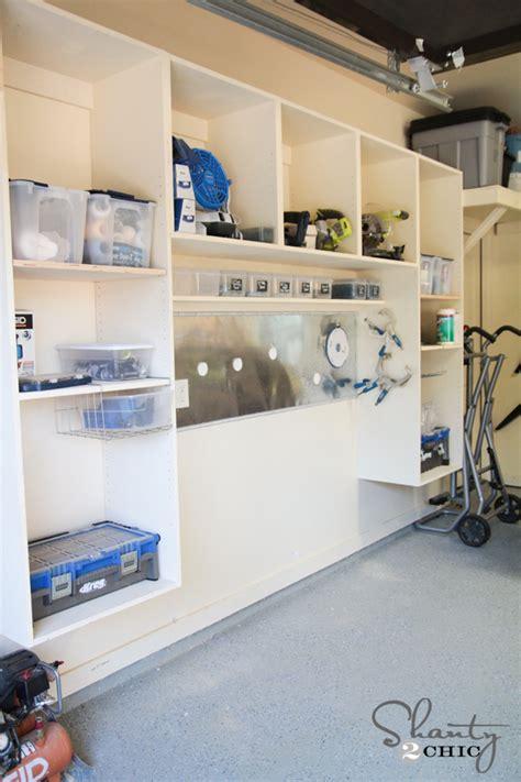 Garage Organization  Woodworking Plans