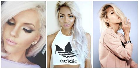 Pictures Platinum Hair by Platinum Hair Is It The New Hair Trend The