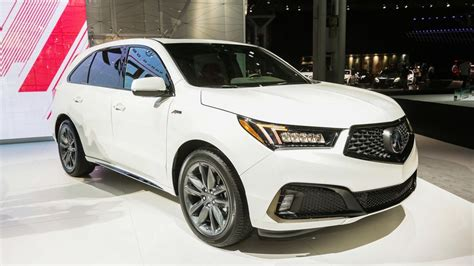 2019 Acura Mdx A-spec Is A Meaner-looking Suv