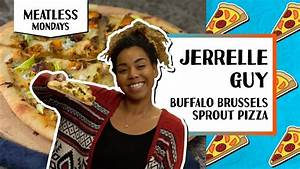 Buffalo Brussels Sprout Pizza l Meatless Monday-Jerrelle ...