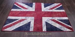 Tapis Drapeau Anglais : tapis pop drapeau anglais joli tapis en viscose pour une ~ Teatrodelosmanantiales.com Idées de Décoration