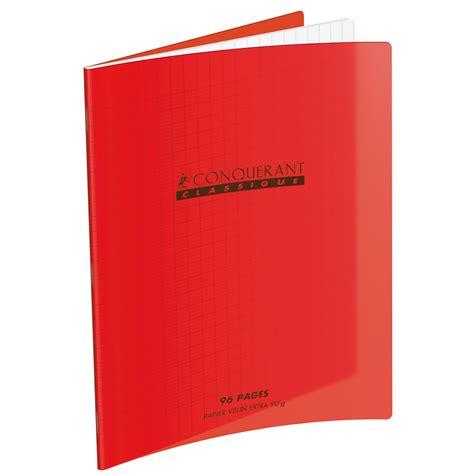 grand bureau noir conquérant cahier 96 pages 240 x 320 mm seyes grands