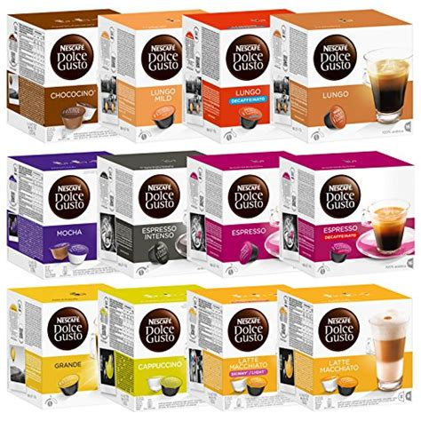 nescaf 233 dolce gusto capsules all inclusive set 12 packs 192 capsules grocery in the uae see