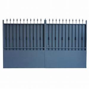 Portail 3 Metres : portails battants tous les fournisseurs portail ~ Premium-room.com Idées de Décoration