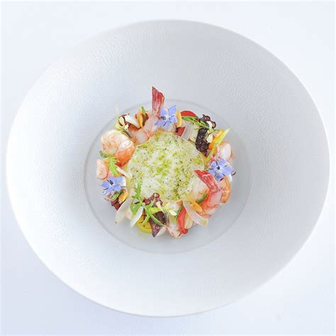 photo plat cuisine gastronomique la chèvre d 39 or gourmet and michelin restaurant on the
