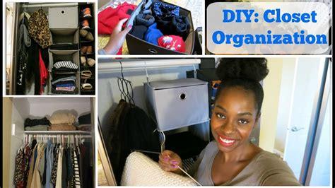 Diy Home Project Closet Organization Youtube