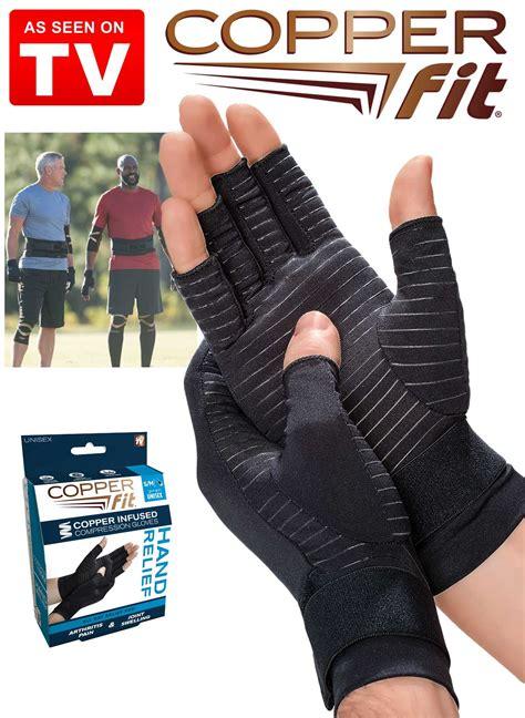 copper fit relief gloves drleonardscom