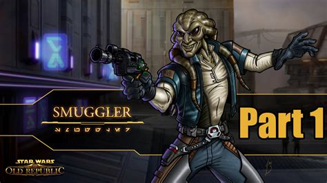 Star Wars The Old Republic Smuggler Gameplay Walkthrough