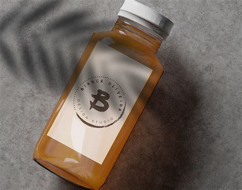 Here is free juice bottle mockup that ideal for your branding design project. Orange Juice Bottle Mockup - Free Design Resources