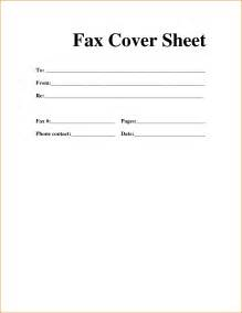 fax cover sheets for free