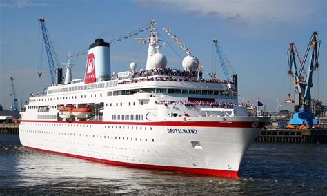 ms deutschland itinerary current position ship review