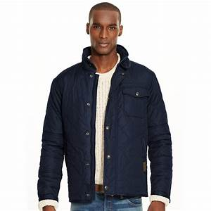 Lyst - Polo ralph lauren Quilted Jacket in Blue for Men