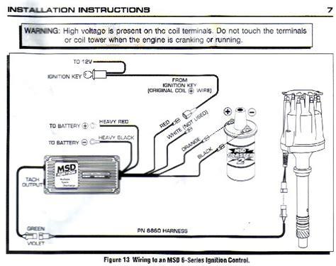 6a Msd Box Wiring Diagram by Msd 6a Wiring Rod Forum Hotrodders Bulletin Board