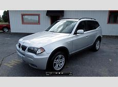 2006 BMW X3 30i Start Up, Exhaust, and In Depth Review