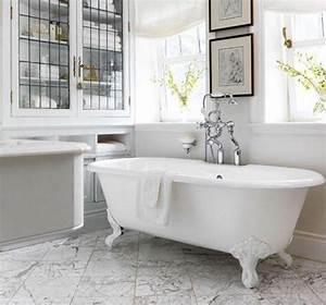 Baignoire Patte De Lion : salle de bains les tendances baignoire douche et ~ Melissatoandfro.com Idées de Décoration
