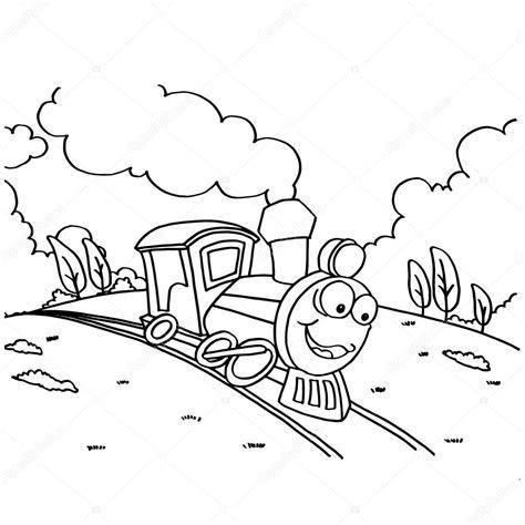 disegni da colorare divertenti per bambini treno immagini disegni da colorare per i bambini di
