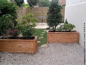 Aménager Une Terrasse : amenager une terrasse jardin ardoise jardin deco horenove ~ Melissatoandfro.com Idées de Décoration