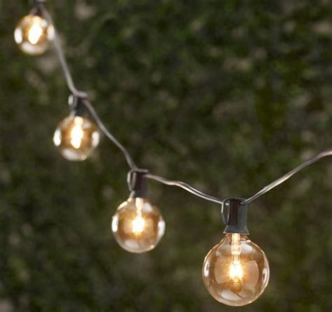 restoration hardware string lights 10 easy pieces cafe style outdoor string lights gardenista