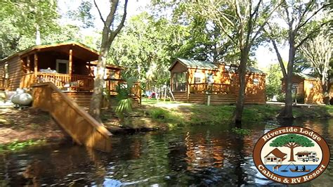 cabins in florida tour of the florida cabin rentals at the riverside lodge