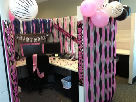 work desk decoration ideas like the streamers balloons at top idea diy partay