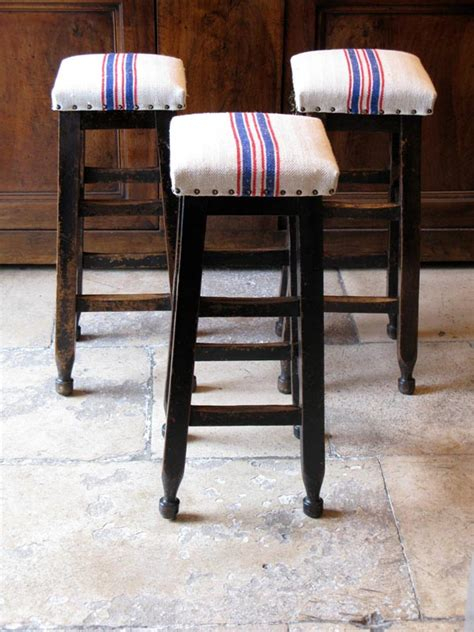 vintage wooden bar stools 19th cent upholstered wooden bar stools benches 6884