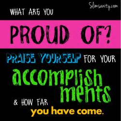 What Are Proud of You