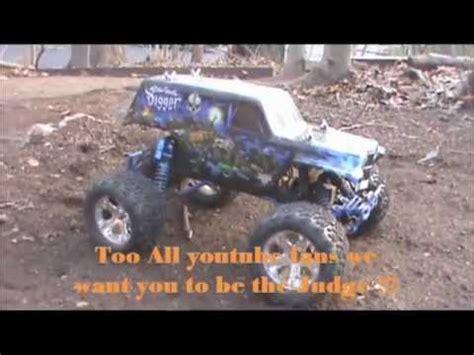 rc monster truck freestyle custom ride ons 12v power wheels grave digger monster