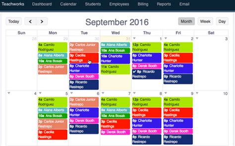 simple  scheduling software  educators