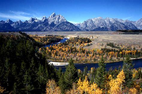 Grand Teton National Park At Wyoming