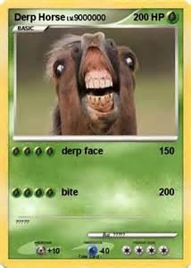 Pokemon Cards Derp Horse