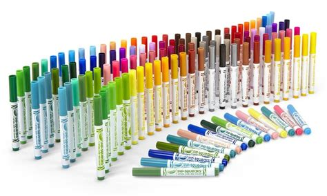 Crayola Pip-squeaks Skinnies Washable Markers (128-count
