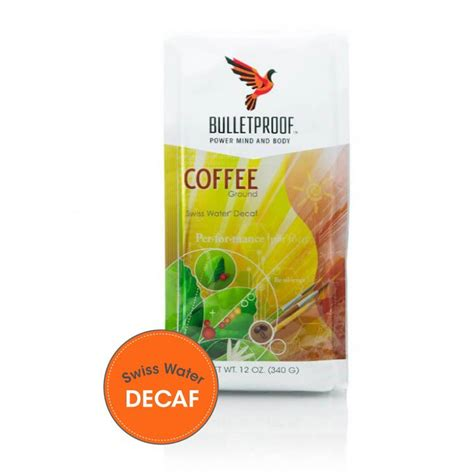 To get rid of extra weight, we can try different diets and weight loss ideas. Bulletproof® Upgraded™ Decaf Coffee Ground 340g