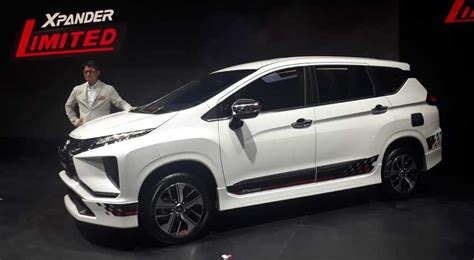 Review Mitsubishi Xpander Limited by Mitsubishi Xpander Limited Edition Meluncur Di Iims 2019