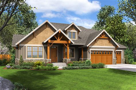 Rugged Craftsman House Plan With Upstairs Game Room