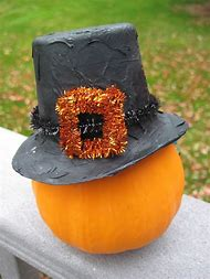 thanksgiving pilgrim hat craft tutorial