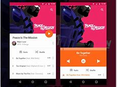 Android Music Player Sketch freebie Download free