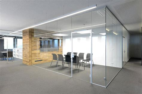 aluminium frame wall glass partition  home removable