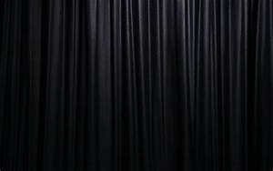 Black curtain wallpaper wallpapersafari for Black drapes texture