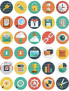Get 140+ Professional Vector Flat Icons - only $6 ...