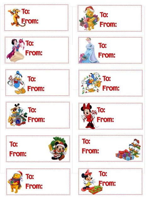 gift tags tags and disney characters on pinterest