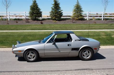 Fiat Bertone X1 9 Sale by 1981 Fiat Bertone X1 9 Second Owner For Sale Fiat Other