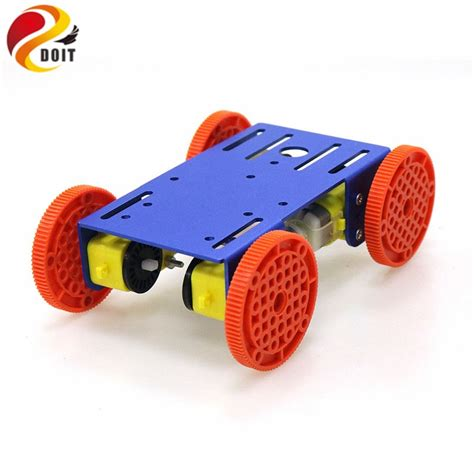 4wd smart robot chassis car with 4pcs tt motor metal