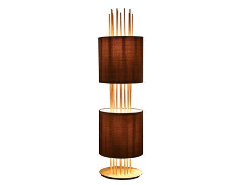 soho oring  modern italian designer floor lamp  bronze