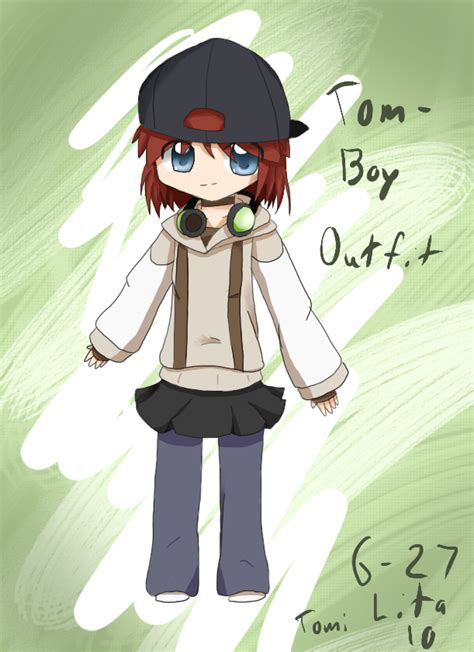 Tomboy-alternate- Outfit by Tomikoi on DeviantArt