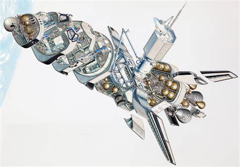 Stephen Biesty - Illustrator - Cross Sections - Space Shuttle